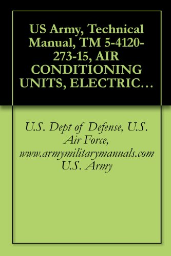 US Army, Technical Manual, TM 5-4120-273-15, AIR CONDITIONING UNITS, ELECTRIC MOTOR DRIV 6,000 BTU/HR, VERTICAL COMPACT, 115 VOLT, SINGLE PHASE, 50/60 ... (4120-935-1607), military manuals