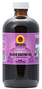 Tropic Isle Living- Jamaican Black Castor Oil with Lavender-8oz Plastic PET Bottle