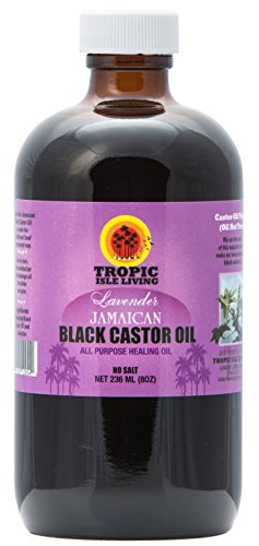 tropic-isle-living-jamaican-black-castor-oil-with-lavender-8oz-plastic-pet-bottle