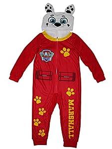 Nickelodeon Paw Patrol Marshall Boys Union Suit Pajamas 4-10