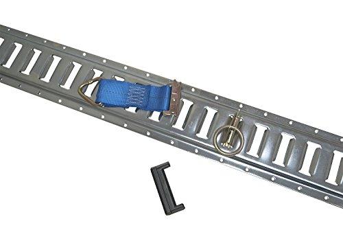 Exterior Combo Kit - 48pc E Track Combo Kit Enclosed Tie Down Trailer Toy Hauler Cargo Van Trailer