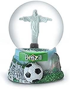 Zizo Brasil Rio de Janeiro Bola de Nieve 65 mm Exclusivo: Amazon.es: Hogar
