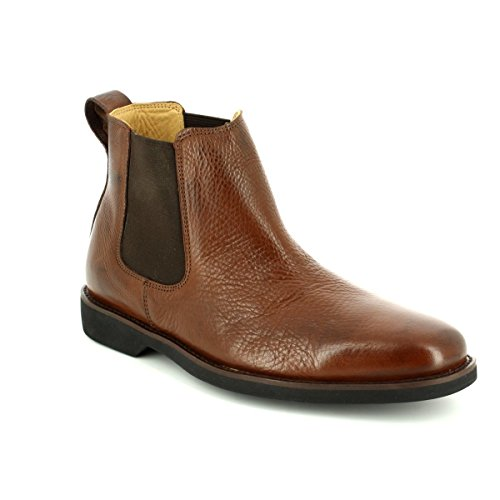 Anatomic Gel Mens Cardoso Pinhao Brown Leather Boots 42 EU