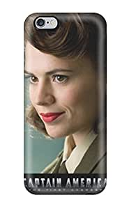 Special CaseyKBrown Skin Case Cover For Iphone 6 Plus, Popular Natalie Dormer In Captain America Phone Case