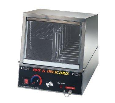 Star Mfg. Hot Dog Steamer w/ Juice Tray