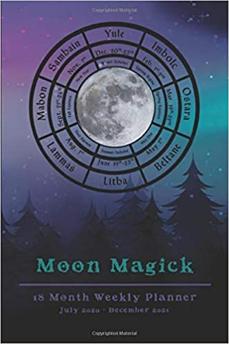 Magick On Halloween 2020 2020 2021 Moon Magick Witches Planner   18 Month Weekly Planner