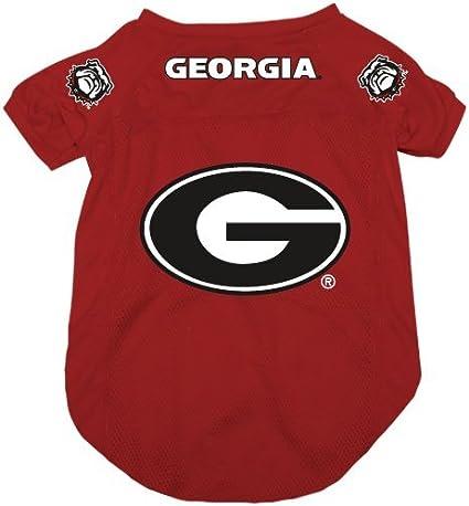 Large NCAA Georgia Bulldogs Pet Jersey