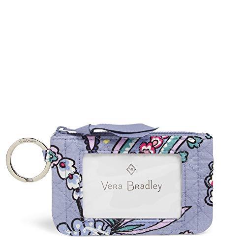 Vera Bradley Women's Signature Cotton Zip, Makani Paisley, One Size