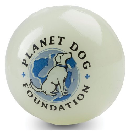 Planet Dog Foundation Glow for Good Ball – 3 in., My Pet Supplies