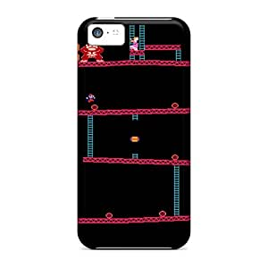 Premium Durable Donkey Kong Shelf Fashion Tpu Iphone 5c Protective Case Cover