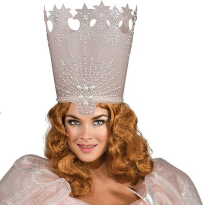 Rubie's Costume Wizard Of Oz Glinda The Good Witch Wig, Red, One (Glinda Wizard Of Oz Halloween Costume)