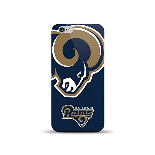 MIZCO SPORTS Case, HJ Power for Apple iPhone 6 4.7'' (All Carrier) Hard Glossy Image Case St. Louis Rams by MIZCO SPORTS