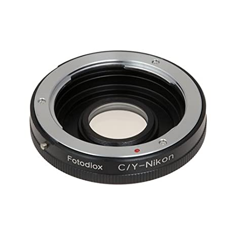 Amazon com : Fotodiox Pro Lens Mount Adapter Compatible with Contax