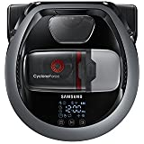 Samsung PowerBot VR10M703IWG Aspirapolvere Robot, 10 W, Wifi con Puntatore, Grigio
