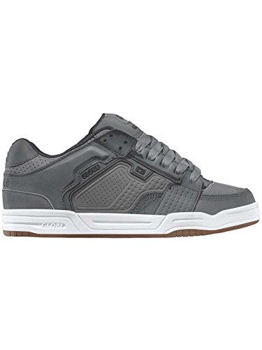 de Homme Globe Chaussures Scribe Grey White Charcoal Skateboard c4FFEr