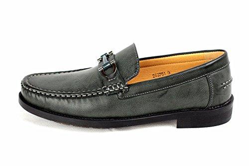 Zapatillas De Estar Por Casa Para Hombre Mocasines Mocasin Inteligentes De Diseño Trabajo Informal Talla Eu 34-40 Caqui
