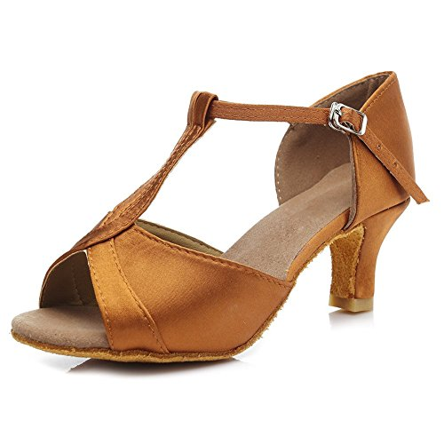 Baile Cuero HROYL Cord de Mujer Zapatos Latino qzRnA7T8