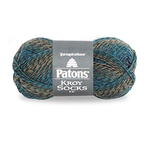 Patons 243457-57210 Kroy Socks FX Yarn, Cascade Colors ()