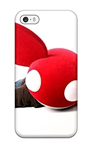 Scratch-proof Protection Case Cover For iphone 5c/ Hot Deadmau5 Phone Case