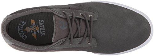 Etnies Gris Patinar Zapato Para Oscuro Hombre Vulc Jameson 7Znxw1q7