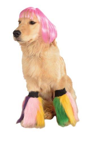 Rubies Wig for Pets, Small to Medium, Hot Pink Short Bob