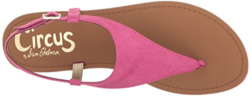 Circus By Sam Edelman Dames Bianca Plat Sandaal Hot Pink