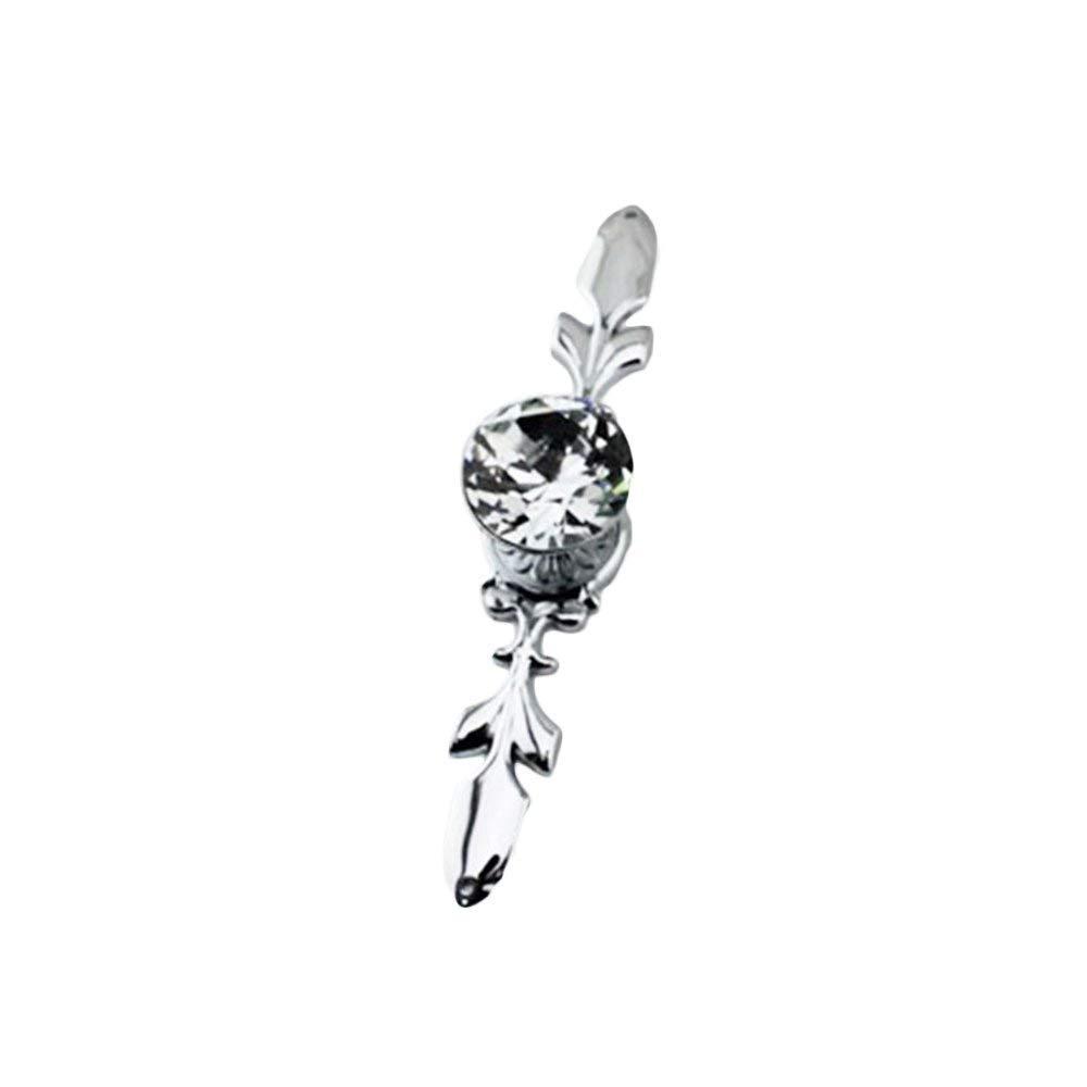 DANSPEED Kristall Türknöpfe Diamant Schnitt Griffe ziehen Glas für ...