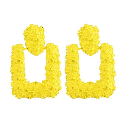 ❤️Fashion Earrings for Women Drop Dangle Earrings Lightweight Geometric Rectangle Statement Earrings Mothers Day ()