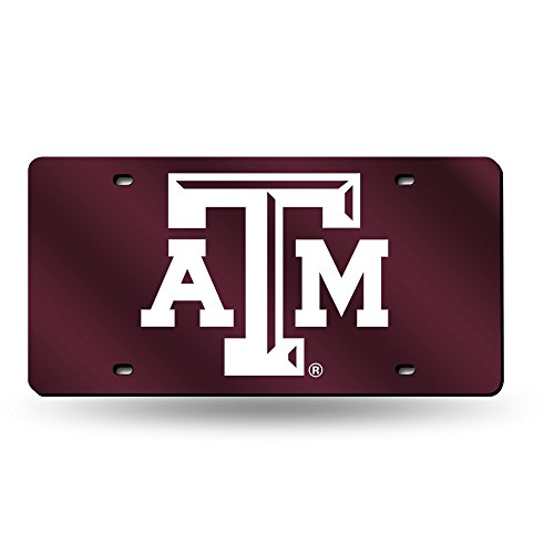 Rico Laser cut Auto Tag, Texas A&M Aggies , 6 x 12 ()