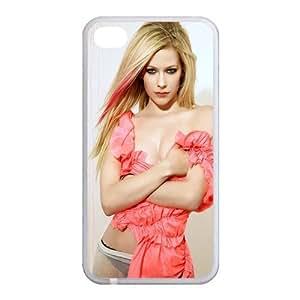 Custom Avril Back Case for iphone4,4S JN4S-170