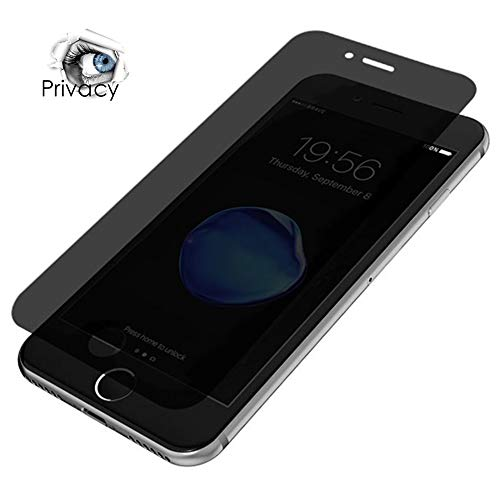Privacy Matte Screen Protector Glass Film Tempered Frosted Front Cover Clear Anti Scratch Fingerprint Dust Proof & Anti-Glare Shatterproof [4.7 inch] Compatible with iPhone 7 /iPhone 8