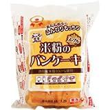 冷凍 みんなの食卓 米粉のパンケーキ メープル 180g