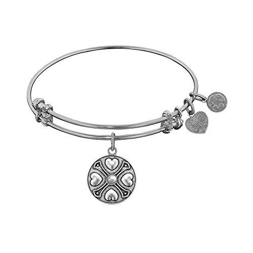 JewelryWeb Angelica June-Pearl Bangle Bracelet -  RCB319242