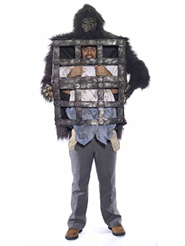 Forum Novelties Adult Gorilla with Cage Costume STD
