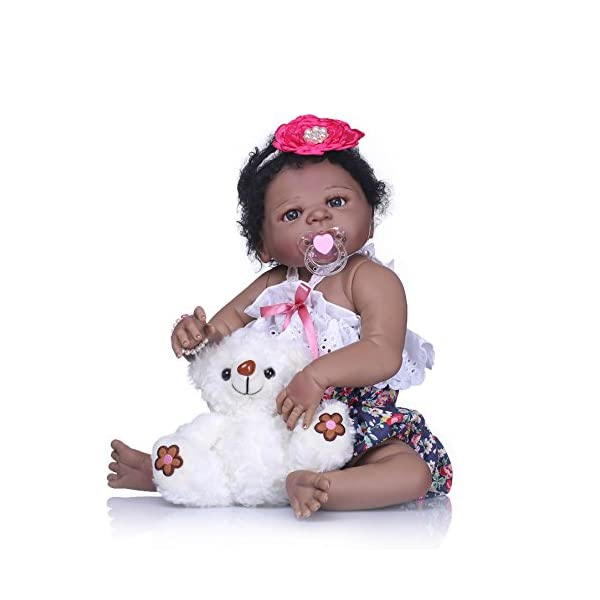 Reborn Baby Dolls Full Body Silicone Vinyl Realistic Looking Toddler Girls Gifts