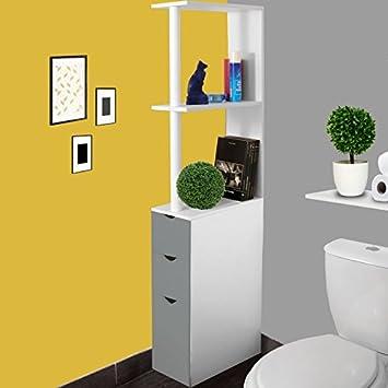 wc regal excellent songmics wc regal badezimmer regal mae. Black Bedroom Furniture Sets. Home Design Ideas