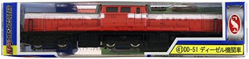 - [NEW] train N gauge die-cast scale model No.41 DD-51 diesel locomotive