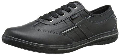 Keds Femmes Craze T-toe Cuir Sneaker Cuir Noir