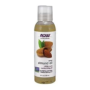 NOW Sweet Almond Oil, 4-Ounce