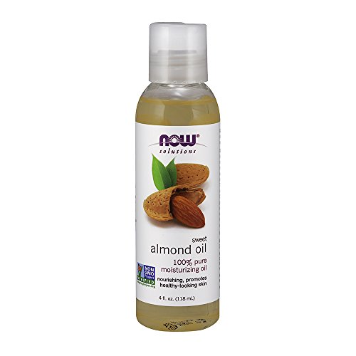 NOW Solutions Sweet Almond Oil, 4-Ounce (Now Foods Sweet Almond Oil)