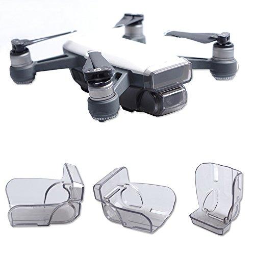 SKYREAT Upgrade Gimbal Cover Lens Cap Full Transport Protector for DJI Spark (Only for transportation, Not use for flying)