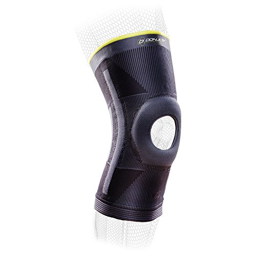 - DonJoy Performance Deluxe Knit Knee Sleeve with Stays and Buttress - Mid-Level Support Knee Brace for PFPS, Sprains, Instabilities - Medium