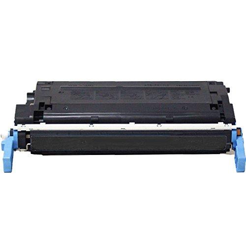 1 Inktoneram Replacement toner cartridge for HP C9720A 641A Black Toner Cartridge LaserJet 4600 4600n 4600dn 4600dtn 4600hdn 4650 4650n 4650dn 4650dtn 4650hdn (Printer 4650n Laser)