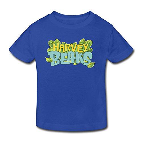 Toddler's 100% Cotton Harvey Beaks Cool Style T-Shirt RoyalBlue US Size 2 -