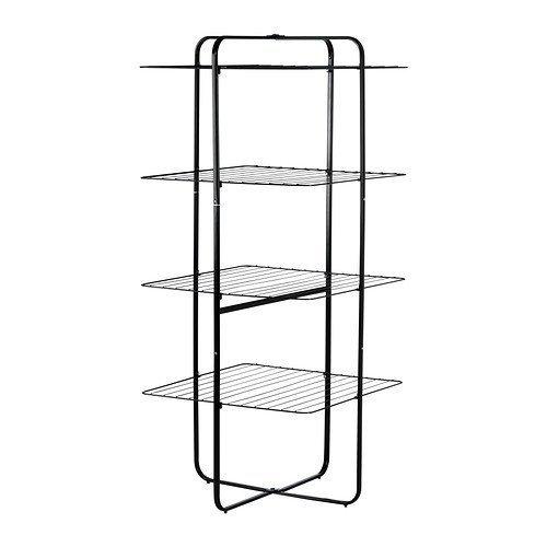 Wäscheständer Ikea ikea mulig wäscheständer 4 ebenen schwarz amazon de küche haushalt