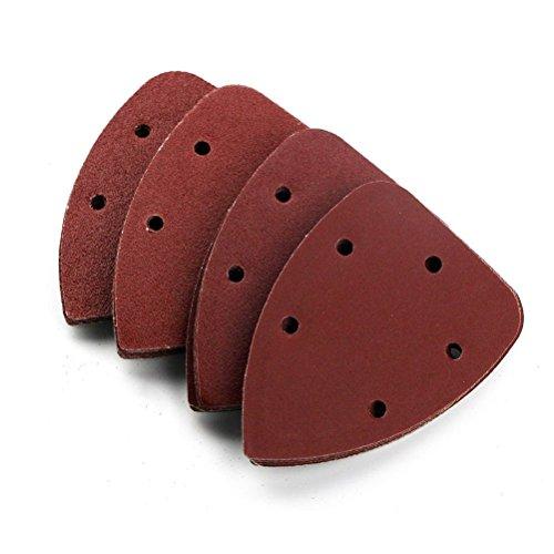 exsart 50 pcs mouse sander pads sanding sheets discs for. Black Bedroom Furniture Sets. Home Design Ideas