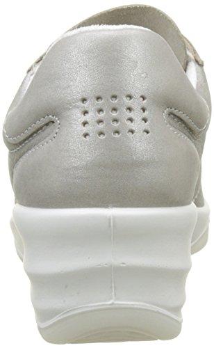Shoes Indoor Women's Métallisée Multisport 351 Tbs Argent Dandys acier zSqw44a