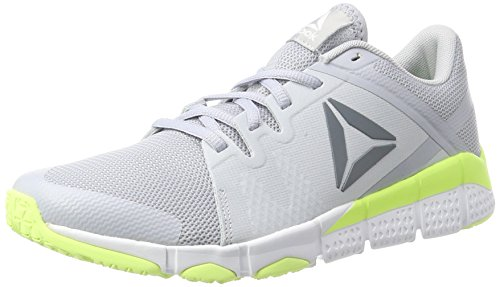 Sneakers Grey asteroid electric Gris white Basses Femme Flash Reebok Dust cloud Trainflex 0qxw77