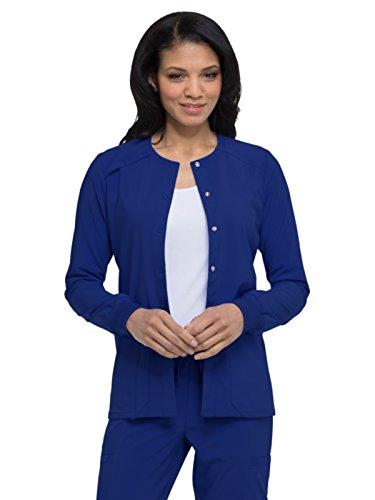 Women's EDS Essentials Snap Front Warm-up - Jackets Essential Blue