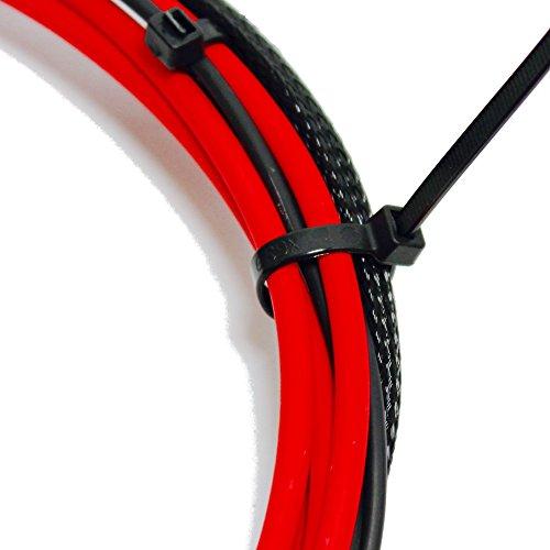 250 Premium Heavy Duty 10 Inch Zip Ties | Black Nylon Cable Ties | XGS Wire Ties by APTronix (10 Inch, Black) by APTronix (Image #2)